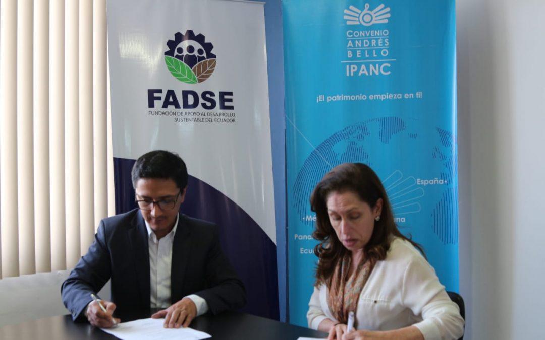 FADSE firma convenio con el IPANC